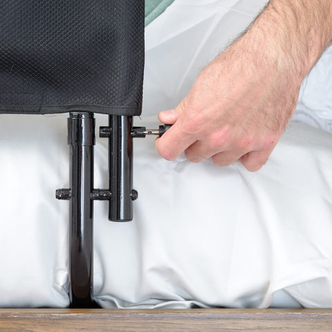 "Stander: 30"" Safety Bed Rail & Padded Pouch - 8051 - Installation View"