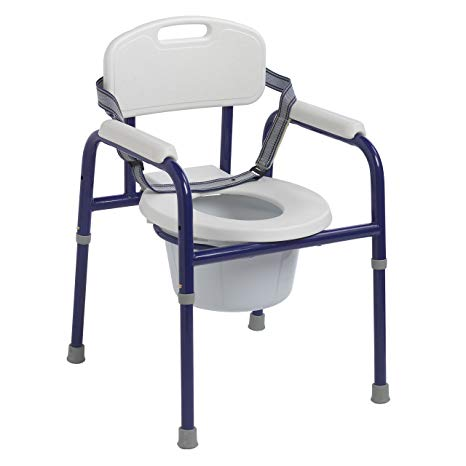 Drive Medical: Pinniped Pediatric Commode - PC 1000 BL