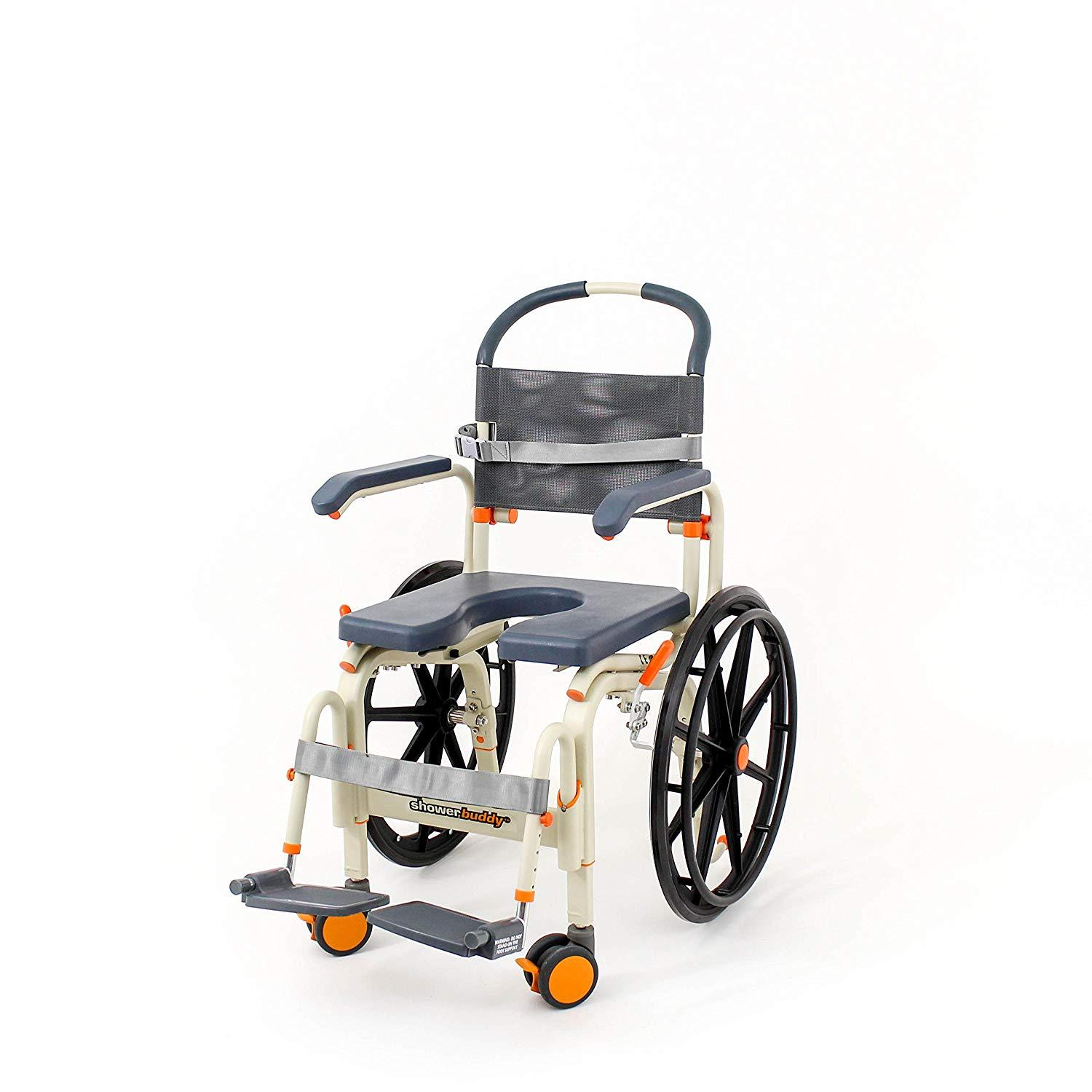 ShowerBuddy Self-propelled Roll-in Shower Chair
