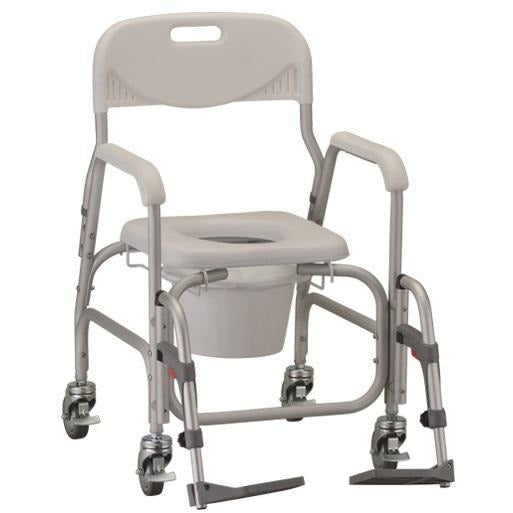 Nova: Deluxe Shower Chair and Commode