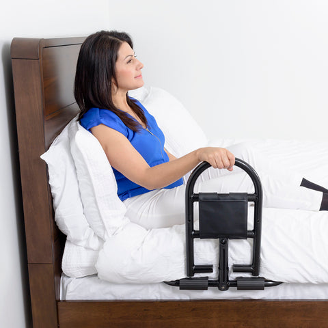 Stander: Prime Safety Bed Handle - 8930 - Side View