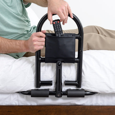 Stander: Prime Safety Bed Handle - 8930 - Bed Rail Organizer