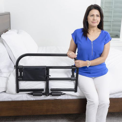 Stander: Prime Safety Bed Rail - 8940 - Front View