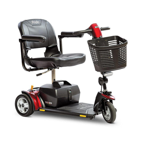 Pride Mobility: Go-Go Elite Plus Traveler 3 Wheel Scooter - Mobility Scooters Store