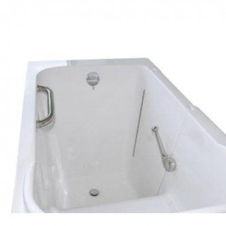 "Bathworks: Basic Walk-in Tub 48"" x 28"" x 40"" Low Threshold"