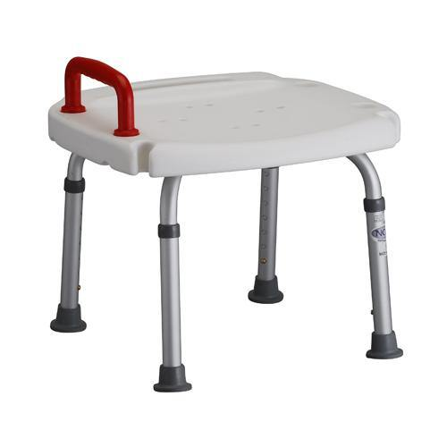 Nova Bath Bench with Red Safety Handle