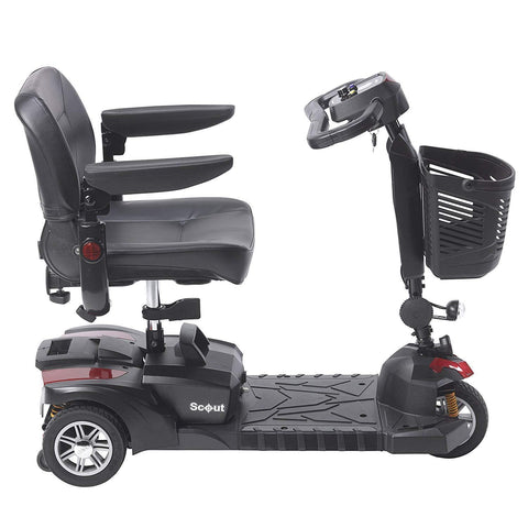Drive Medical: Scout DST 3-Wheel - Mobility Scooters Store