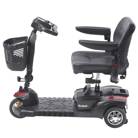 Drive Medical: Scout DST 3-Wheel mobility scooter - Mobility Scooters Store