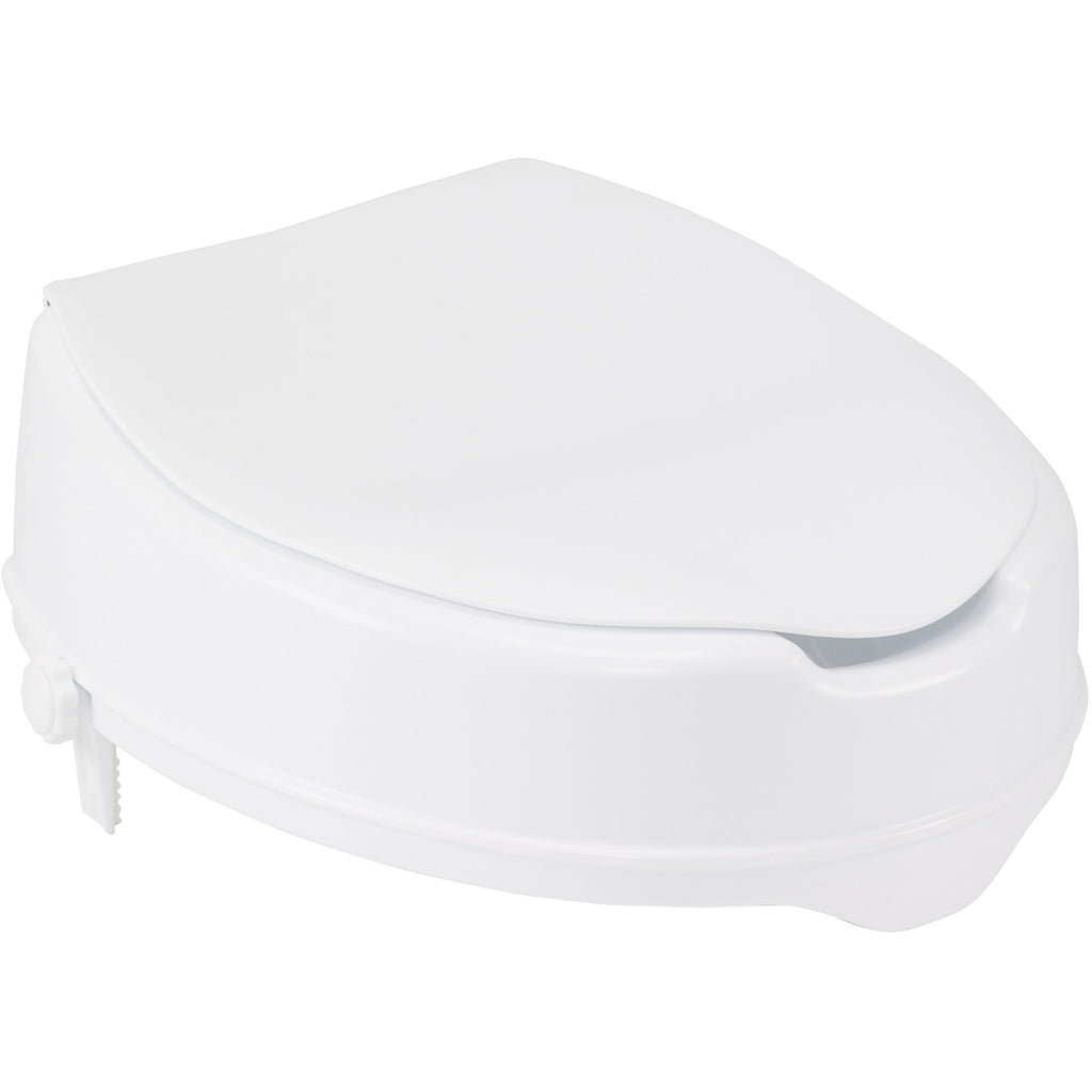 Drive Medical: Raised Toilet Seat with/without Lid
