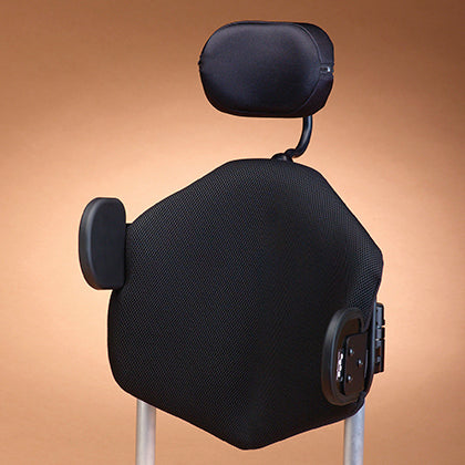 Ride Designs: Java Decaf Back for wheelchairs - Back Seat View