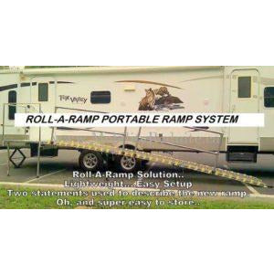 Roll-A-Ramp: RV Ramps / Trailer Ramps - After Roll-A-Ramp