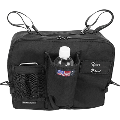 "See and Be Safe: Wheelchair Bag for Under Seat 10"" tall x 13"" wide x 5"" deep - 20241 - Actual View"