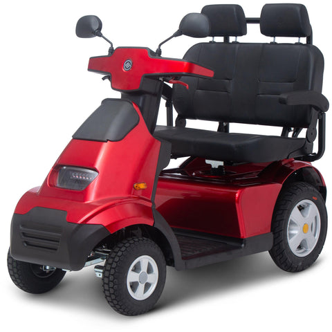 Afikim: Dual Seat Afiscooter S 4-Wheel Recreational Mobility Scooter - S4 Breeze