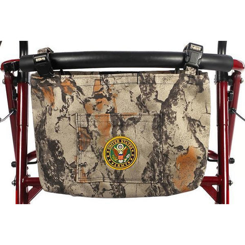 Granny Jo Products: US Military Walker/Wheelchair/Scooter Bag - 1202 - Army Camo