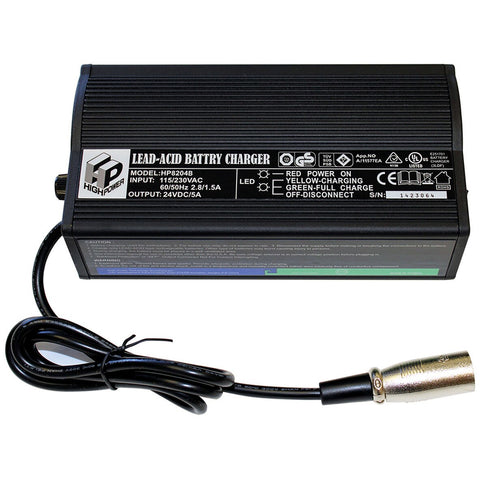 New Solutions: Economical 5 Amp Battery Charger - BA205