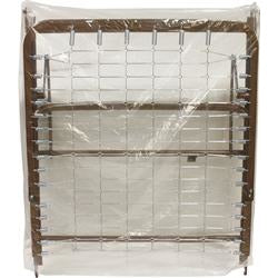 Compass Health: Clear Plastic Split Spring Bed Cover, 1 mil - BAG-7252R