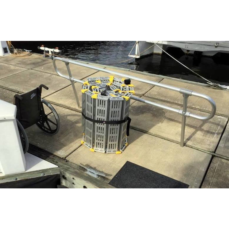 Roll-A-Ramp: Boat Ramps - BP22-5 - Folded Position
