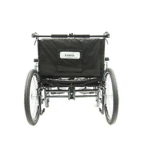 Karman Healthcare: KM-BT10 – 22″ to 30″ Sea″ Seat Bariatric Wheelchairs – KM-BT10 back image
