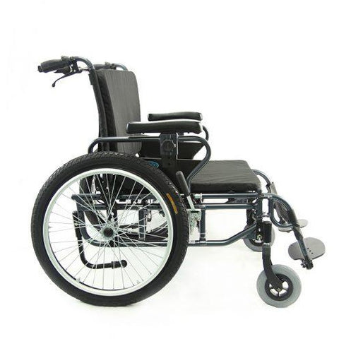 Karman Healthcare: KM-BT10 – 22″ to 30″ Sea″ Seat Bariatric Wheelchairs – KM-BT10 side image