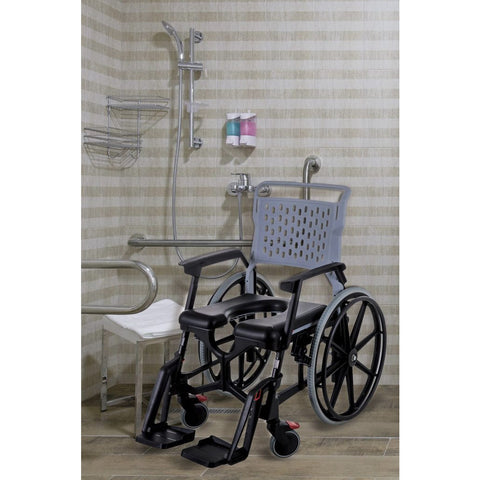 Seatara: Bathmobile Highly Ajustable Commode and Shower Chair - ZMR400100241 - Actual Image