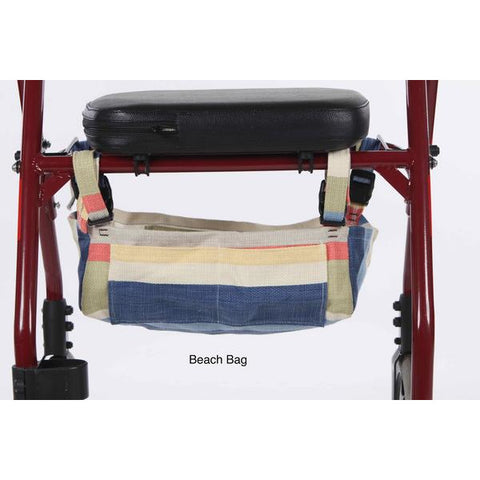 Granny Jo Products: Underseat Rollator Bag - Beach Bag Color