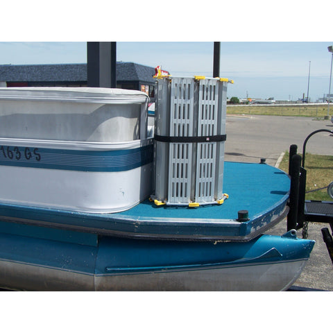 Roll-A-Ramp: Boat Ramps - BP22-5 - rolled up Position