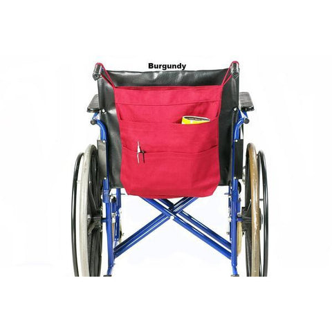 Granny Jo Products: Rear Hanging Wheel Chair Bag - 1205 - Burgundy Color