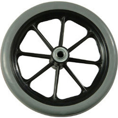 Compass Health: TriQuality Front Caster 8x1 solid rubber - CW-8716IN2 Front View