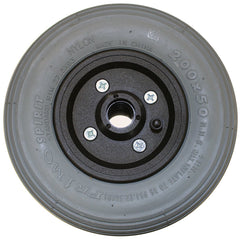 "New Solutions: 8 x 2"" Invacare Two Piece Caster 7/16"" Bearings 2 1/2"" Hub Width Pneumatic Tire / Tube - CW202"