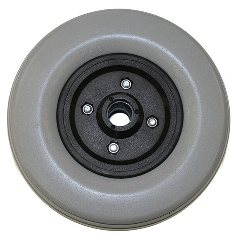 "New Solutions: 6 x 2"" Invacare Caster Wheel With Offset Bearings Urethane Wide Tire - CW237"