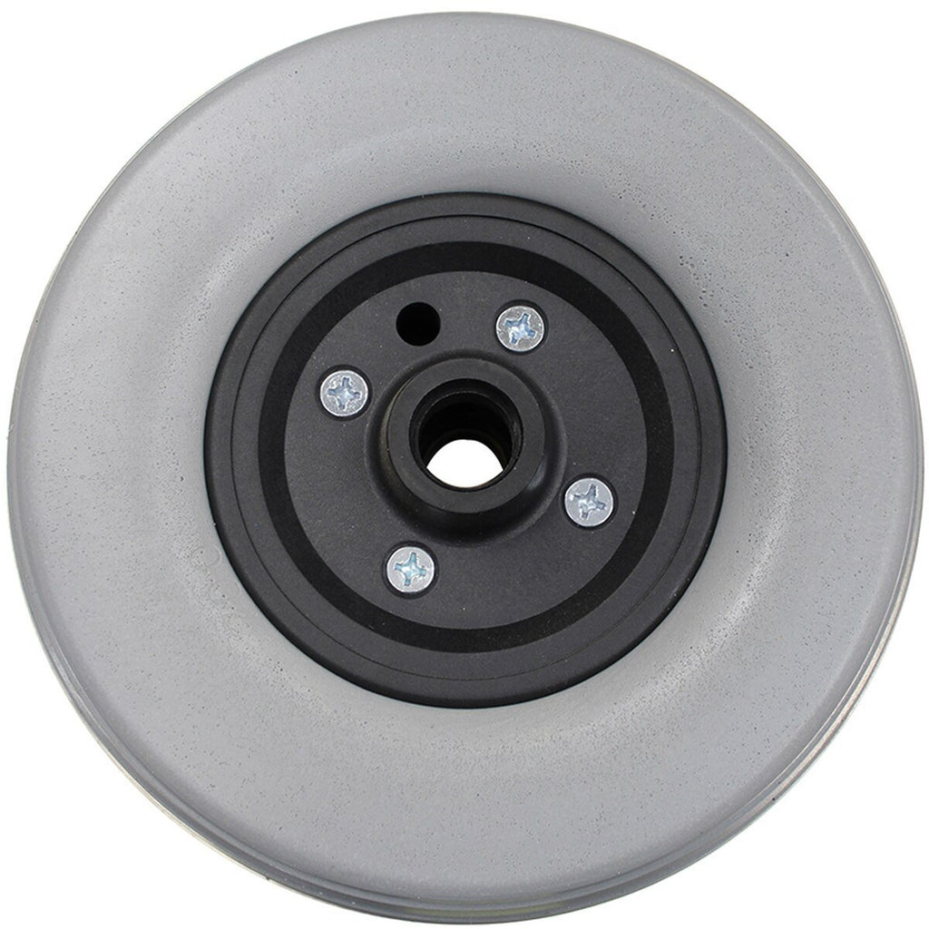"New Solutions: 8 x 2.25"" Standard Two Piece Caster 5/16"" Bearings Urethane Tire - CW241"