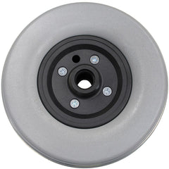 "New Solutions: 8 x 2"" Invacare Two Piece Caster 7/16"" Bearings 2 1/2"" Hub Width Foam Filled Tire - CW203"
