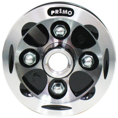 "New Solutions: 8 x 2"" Alloy Wheel Two Piece Caster 5/16"" Bearings 2 1/2"" Hub Width No Tire - CW270"