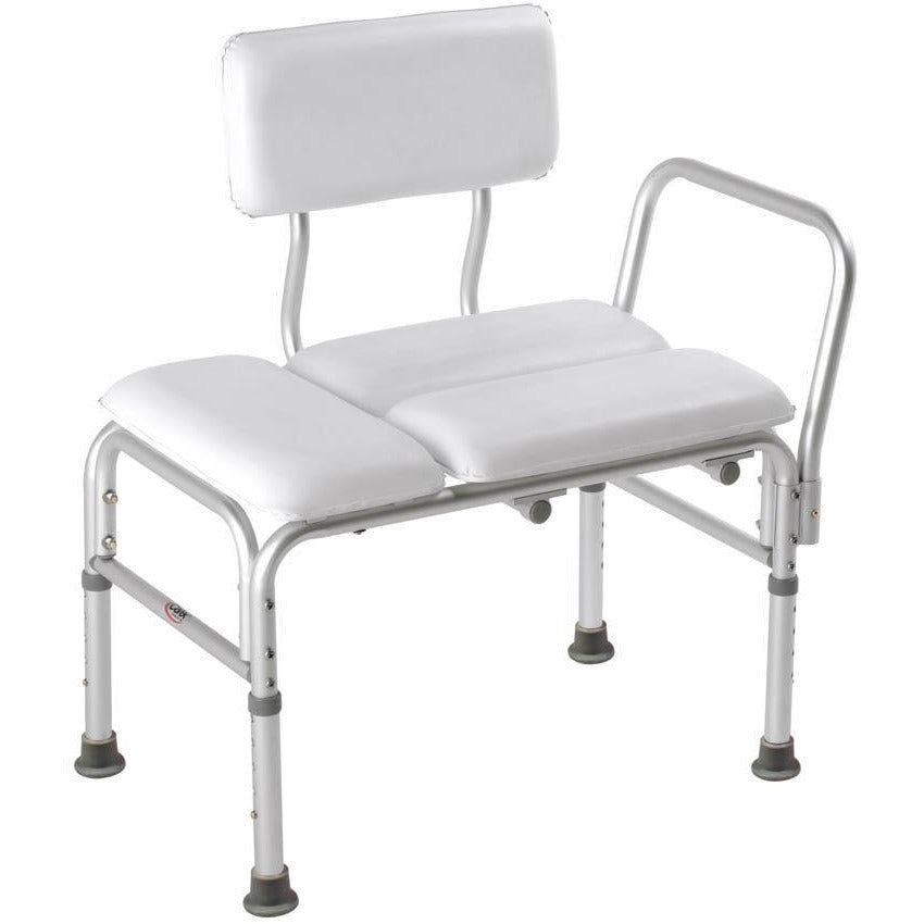 Compass Health: Carex Deluxe Padded Transfer Bench - FGB15011 0000 Main View