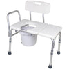 Carex: Bathtub Transfer Bench with Opening & Bucket - FGB15611 0000