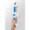 "Image of Compass Health: Carex Ultra Grip 19"" Pivot Grab Bar - FGB19700 0000 Wall Fix"