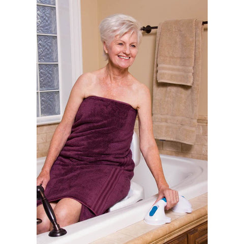 "Compass Health: Carex Ultra Grip 12"" Grab Bar - FGB20000 0000 Actual Picture"
