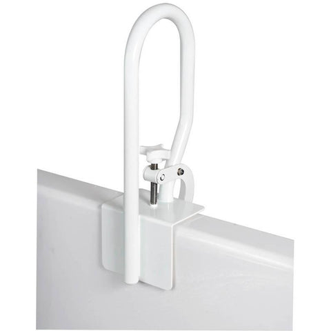Compass Health: Carex White Bathtub Rail - FGB20400 0000 Bar Adjust