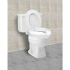 Compass Health: Carex Safe Lock Raised Toilet Seat - FGB31300 0000 Actual Picture