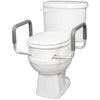 Compass Health: Carex Toilet Seat Elevator with Handles - Elongated - FGB31600 0000 Actual Picture