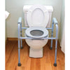 Compass Health: Carex Deluxe Folding Commode - FGB34100 0000