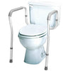 Compass Health: Carex Toilet Safety Frame - FGB356C0 GRAY - Actual Picture