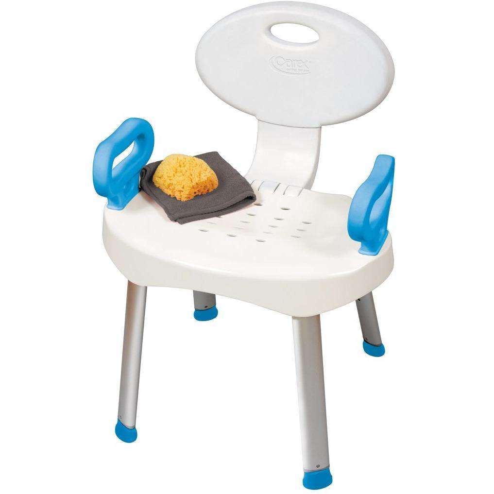 Compass Health: Carex E-Z Bath and Shower Seat with Handles - FGB66000 0000