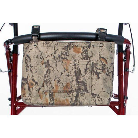 Granny Jo Products: CAMO Walker/Wheelchair/Scooter Bag - Front View