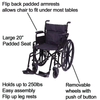 Carex: Wheelchair - FGA22700 0000 - Product Overview