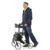 Image of Comodita: Tipo Classic Walker Rollator - COM 900 Beige Side View
