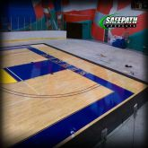 SAFEPATH Products: CourtEdge Reducer Ramps - Basket Ball court view