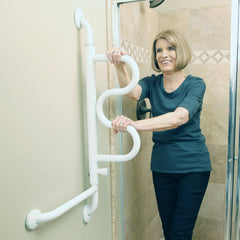Stander: Curve Grab Bar - 9000 - Front View