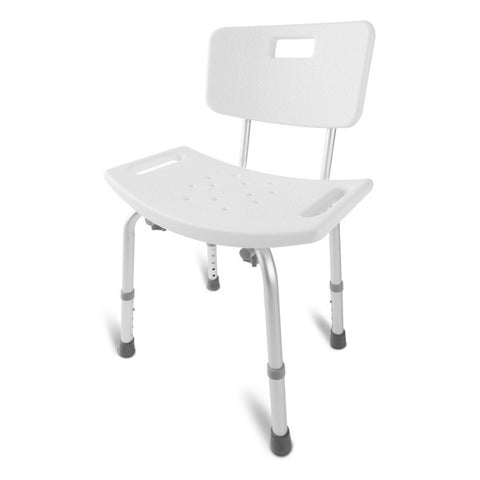 Healthsmart: Dmi Tool-Free Bath Seat – Shower Chair W/ And W/O Back 522-0798-1900 - Actual Image