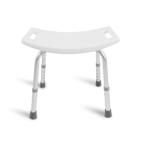 Healthsmart: Dmi Tool-Free Bath Seat – Shower Chair W/ And W/O Back 522-0798-1900 - Front View